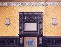 Design for the front drawing room No1 Grosvenor Crescent London - G. Hutchinson
