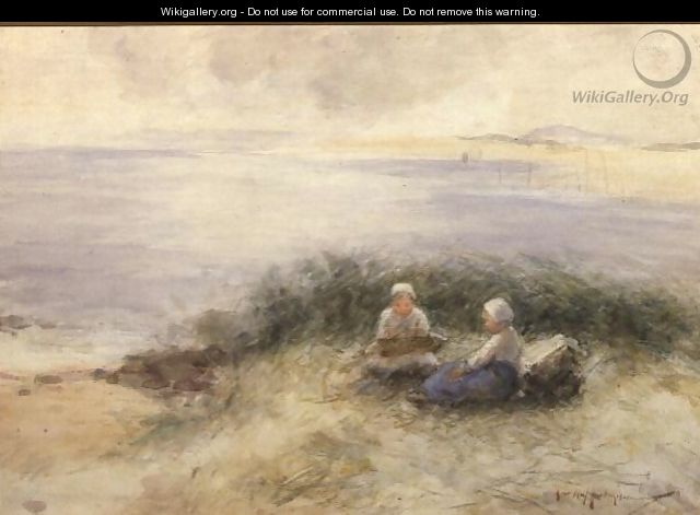 A Summer Sea - Robert Gemmell Hutchison