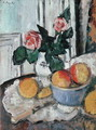 Roses and Fruit - George Leslie Hunter