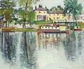 Reflections Balloch - George Leslie Hunter