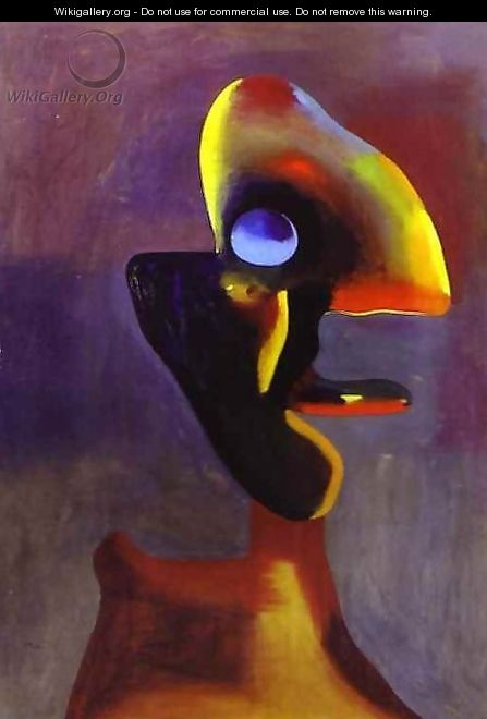Head of a Man - Joaquin Miro