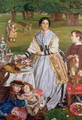 Lady Fairbairn with her Children - William Holman Hunt