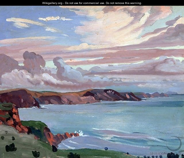 Pembroke Coast - James Dickson Innes