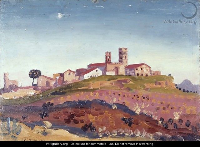The Cathedral at Elne - James Dickson Innes