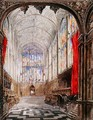 Interior of Kings College Chapel - Joseph Murray Ince