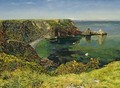 Ansteys Cove Devon - John William Inchbold