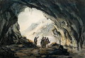 Travellers by a Cave - Julius Caesar Ibbetson