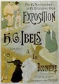 Exhibition by HB Ibels at the Bodiniere - Henri-Gabriel Ibels