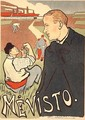 Reproduction of a poster advertising Mevisto Paris - Henri-Gabriel Ibels