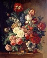 Still Life of Flowers in a Vase - (after) Huysum, Jan van