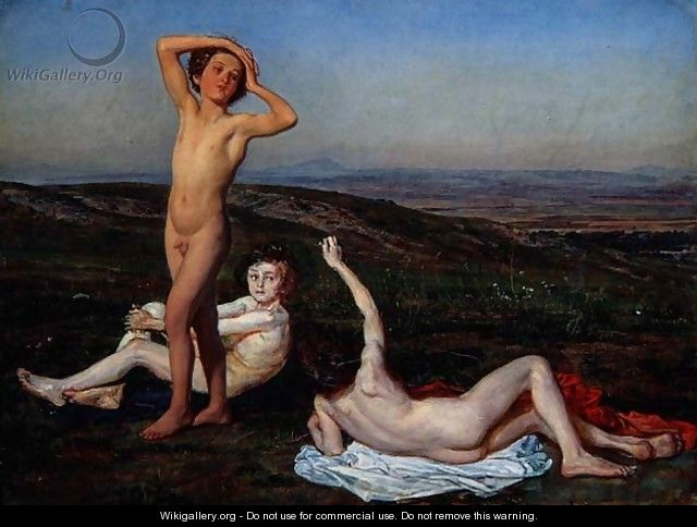 Three Naked Boys - Alexander Ivanov