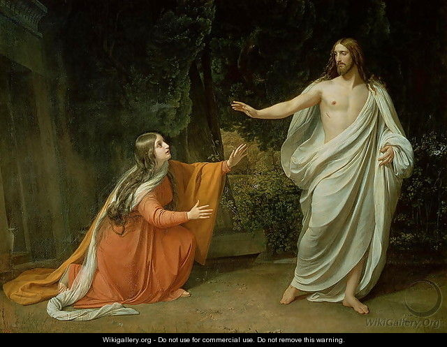 The Appearance of Christ to Mary Magdalene - Alexander Ivanov