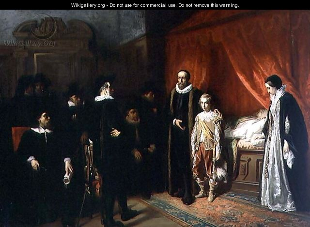 The Death of William the Silent 1533-84 Stadholder of the Netherlands - Jozef Israels