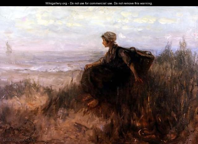 On the Dunes - Jozef Israels