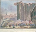 The Taking of the Bastille by the French Guards and the Bourgeoisie - Jean-Francois Janinet