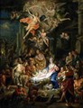 The Adoration of the Shepherds - Frans Christoph Janneck