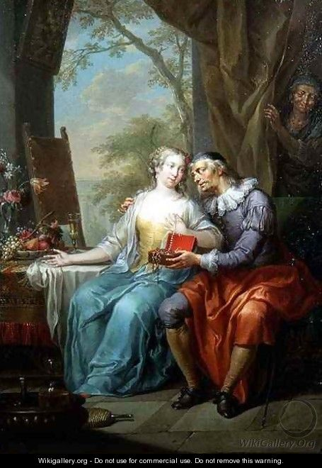Allegories of Unequal Love - Frans Christoph Janneck