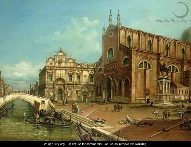The Church of San Giovanni e Paolo Venice - William James