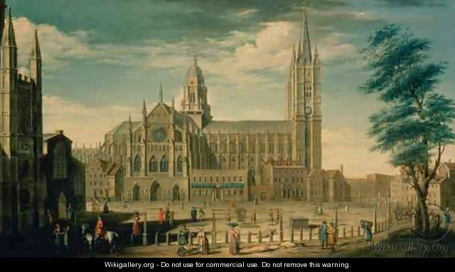 The North Front of Westminster Abbey - William James