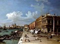 The Molo Looking Towards the Entrance of the Grand Canal - William James