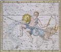 Aquarius and Capricorn from A Celestial Atlas - A. Jamieson