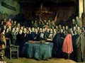 The Swearing of the Oath of Ratification of the Treaty of Munster - Claude Jacquand