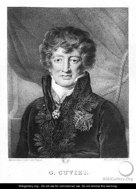Portrait of Georges Cuvier 1769-1832 - (after) Jacques