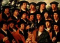 Group Portrait of the Shooting Company of Amsterdam - Dirck Jakobsz