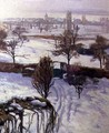 View of Geneva in Winter - Jacques Jacobi