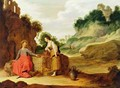 Christ and the woman of Samaria - Lambert Jacobsz or Jacobs