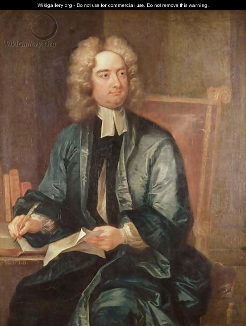 Portrait of Jonathan Swift - Charles Jervas