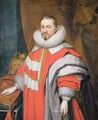 Thomas Coventry 1st Baron Coventry of Aylesborough 1578-1640 Lord Keeper of the Great Seal of England 1625-40 -  Janson