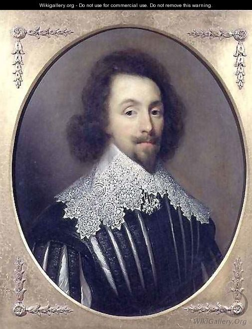 Portrait of King Charles I of Great Britain and Ireland 1600-49 - Cornelius Janssens van Ceulen