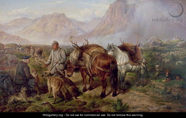 Bringing Home the Deer - Charles Jones