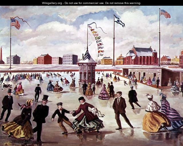 An American Ice Rink - Charles Jones