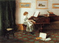 At the Piano - Esther H. Jones