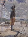 A Sikh Sentry Fort Johnston Nyasaland - Harry Hamilton Johnston