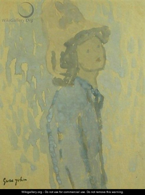 Girl with a Hat - Gwen John