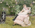 A rest in the garden - Edward Killingworth Johnson