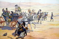 Napoleon 1769-1821 and his Troops in the Desert during the Egyptian Campaign - Jacques Onfray de Breville