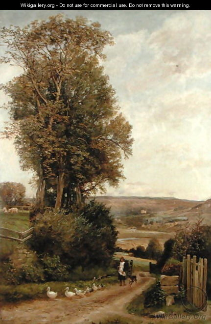 The Vale of Rothbury - Robert Jobling