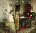 The Family of the Artist - Viggo Johansen