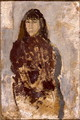 Study of a Young Woman in a Mulberry Dress - Gwen John
