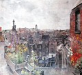 City of London Skies and Flowers Roofs of High Holborn - Lily Delissa Joseph