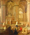 The Mass of Canon Antoine de La Porte or The Altar of Notre Dame - Jean-baptiste Jouvenet