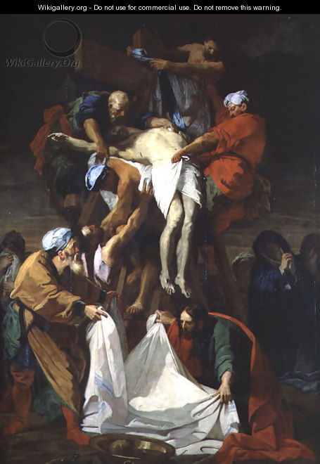 The Descent from the Cross - Jean-baptiste Jouvenet