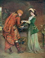 Prince Charlies 1720-88 farewell to Flora Macdonald 1722-90 - (after) Joy, George William