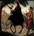 The Flight into Egypt - Borgona Juan de