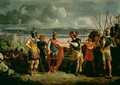 Meeting between Claudius Civilis and the commander of the Roman Army - Frans de Jong or Jongh