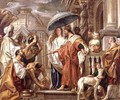The Homage of Caliph Harun Al Rashid to Charlemagne - J. & Utrecht, A. Jordaens